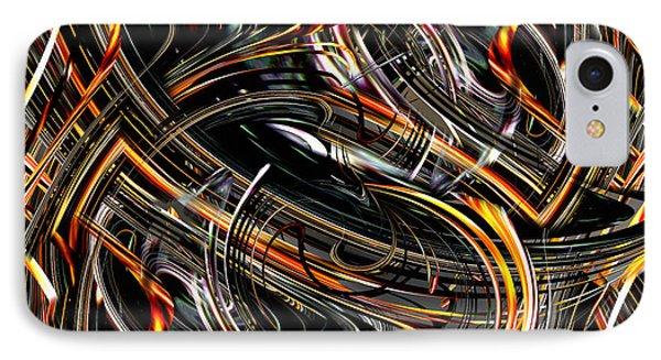 IPhone Case featuring the digital art Esssss by rd Erickson