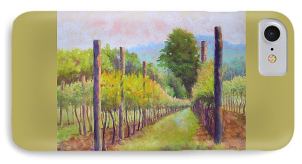 Estate Pinot IPhone Case by Nancy Jolley