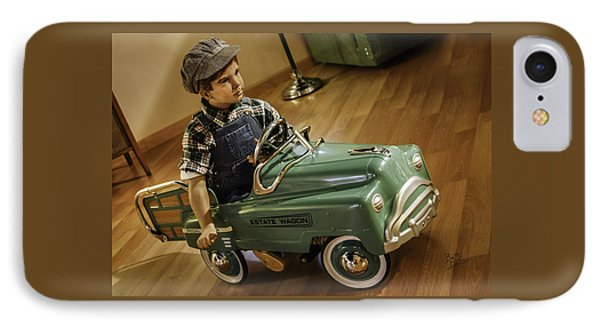 IPhone Case featuring the photograph Estate Wagon Pedal Truck by Betty Denise