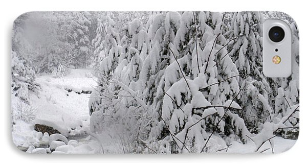 IPhone Case featuring the photograph Estes Park After The Blizzard by Kate Purdy