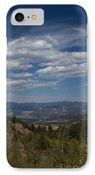 Estes Park In The Valley Phone Case by Kay Pickens