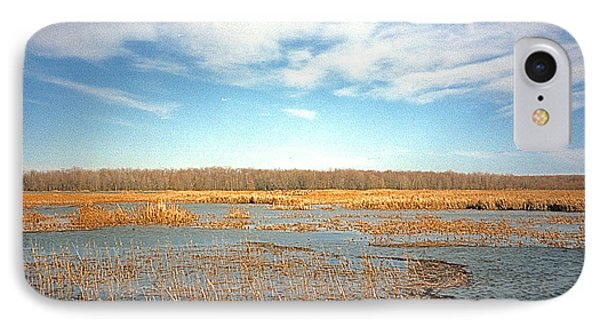 IPhone Case featuring the photograph Etang by Marc Philippe Joly