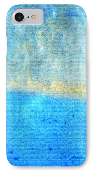Eternal Blue - Blue Abstract Art By Sharon Cummings IPhone Case
