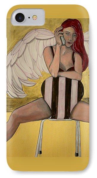 Eternal Call Waiting IPhone Case by Darlene Graeser