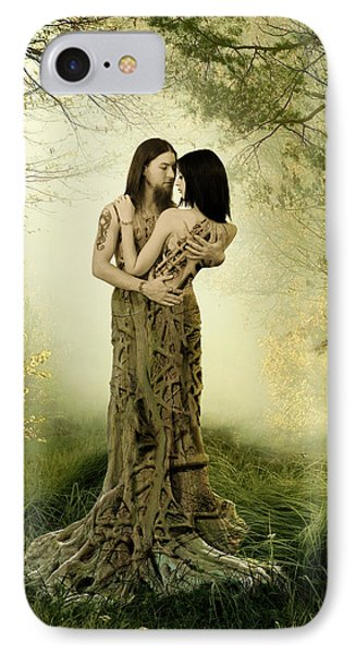 Eternal Embrace IPhone Case by Linda Lees