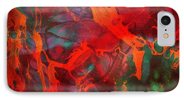 Eternal Flow Phone Case by Ally  White