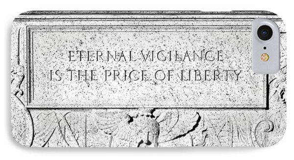Eternal Liberty IPhone Case by Greg Fortier