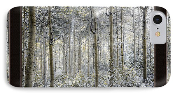 Etheral Forest Triptych IPhone Case