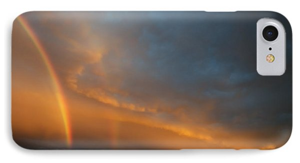 Ethereal Clouds And Rainbow Phone Case by Greg Reed