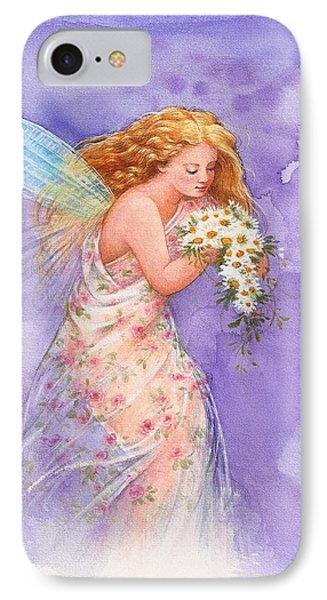 Ethereal Daisy Flower Fairy IPhone Case