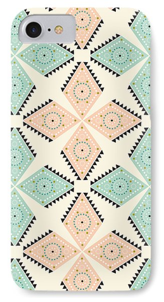 Ethnic Folk Print IPhone Case