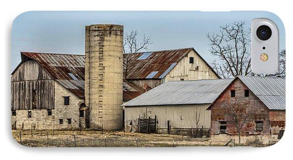 Ethridge Tennessee Amish Barn IPhone Case by Kathy Clark