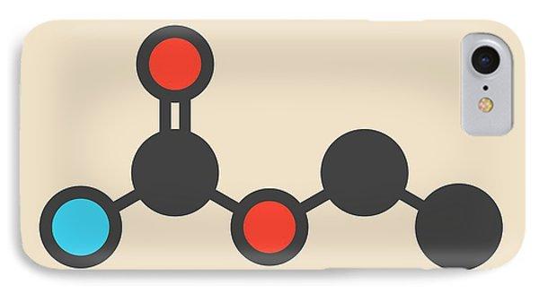 Ethyl Carbamate Carcinogenic Molecule IPhone Case by Molekuul