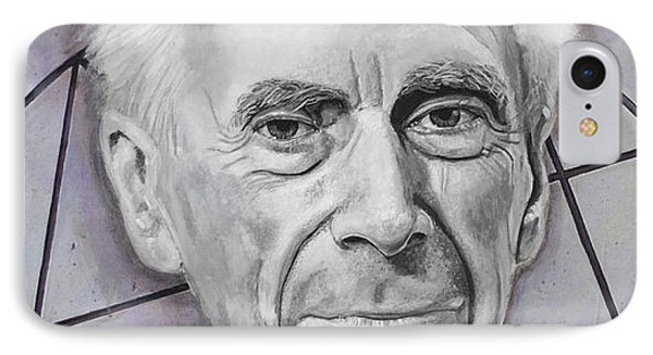 Euclid- Bertrand Russell IPhone Case