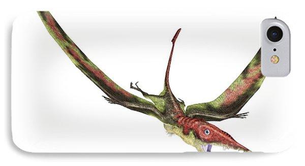 Eudimorphodon IPhone Case by Leonello Calvetti