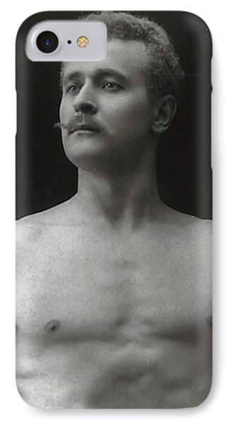 Eugen Sandow IPhone Case by American Photographer