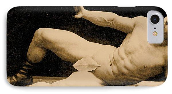 Eugen Sandow Phone Case by Benjamin J Falk