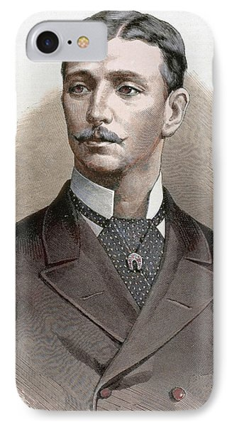 Eugene Louis Napoleon Bonaparte IPhone Case by Prisma Archivo