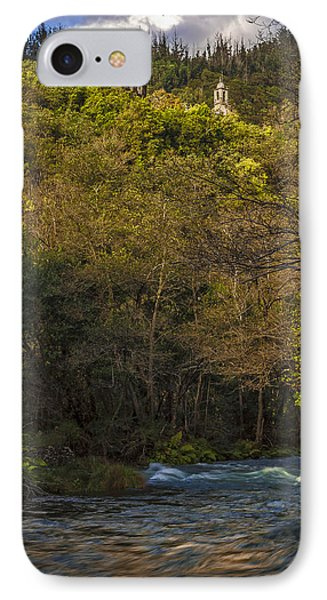 IPhone Case featuring the photograph Eume River Galicia Spain by Pablo Avanzini