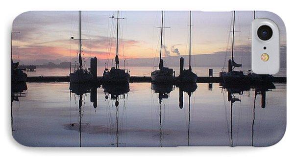 Eureka Harbor At Sunset IPhone Case