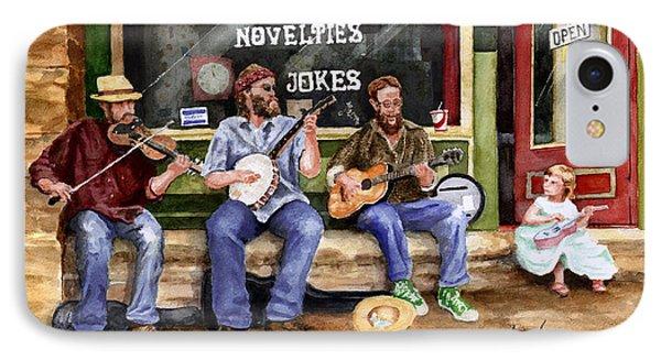 Eureka Springs Novelty Shop String Quartet Phone Case by Sam Sidders