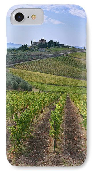Europe, Italy, Tuscany, Chianti IPhone Case by Rob Tilley