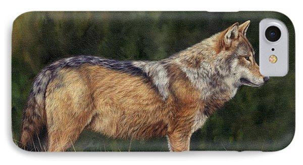 European Grey Wolf IPhone Case