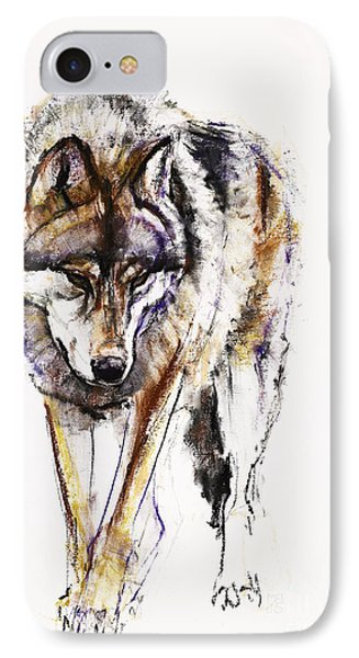 European Wolf IPhone Case by Mark Adlington