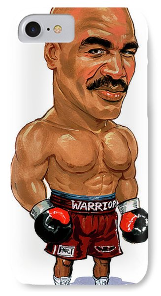 Evander Holyfield Phone Case by Art