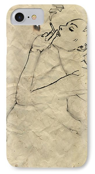 Eve IPhone Case by H James Hoff