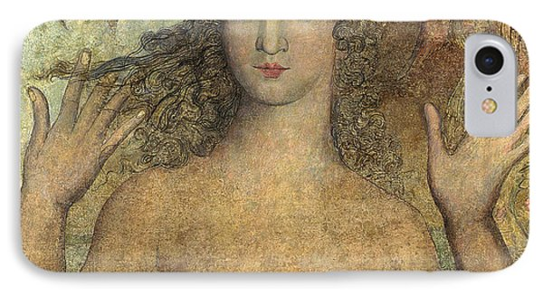 Eve Naming The Birds IPhone Case by William Blake
