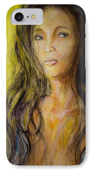 Eve Portrait  Phone Case by Nik Helbig