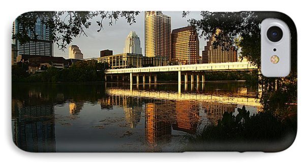 Evening Along The River IPhone Case by Dave Files