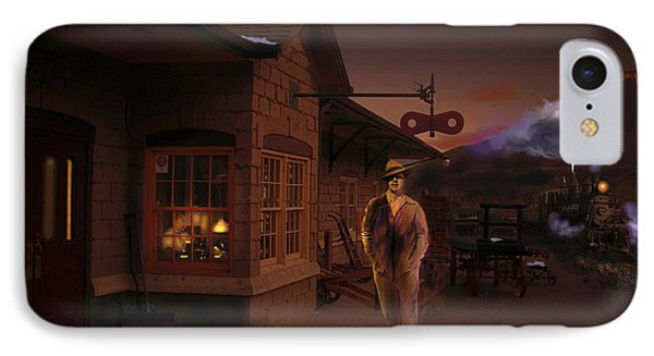 Evening Arrival At Golden IPhone Case by J Griff Griffin