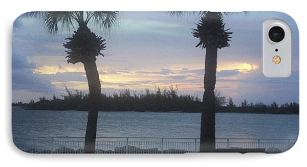 IPhone Case featuring the photograph Evening At Fort Pierce Inlet by Megan Dirsa-DuBois