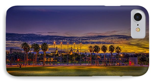 Evening At The Park Phone Case by Marvin Spates