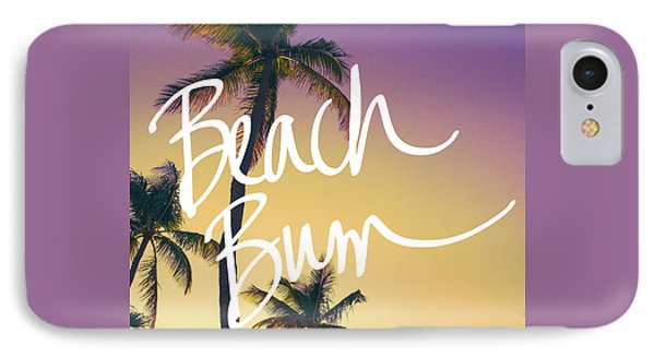 Evening Beach Bum IPhone Case by Emily Navas