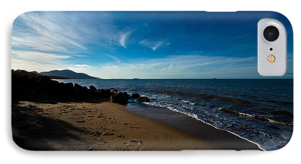 Evening Beach IPhone Case by Carole Hinding