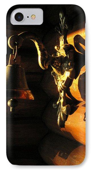 IPhone Case featuring the photograph Evening Bell by Leena Pekkalainen