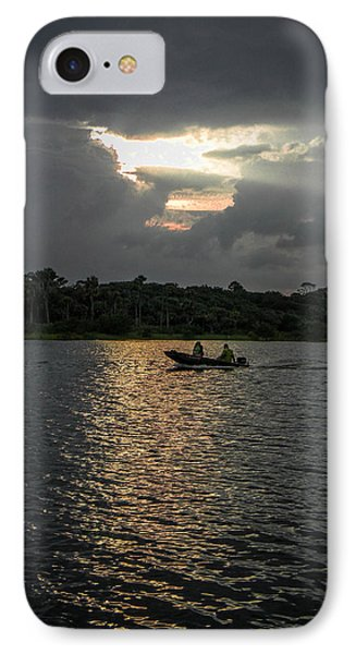 Evening Boat Ride IPhone Case