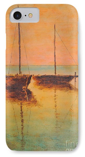 Evening Boats IPhone Case