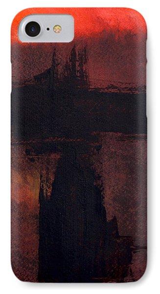 Evening Bridge IPhone Case by Richard Hinger