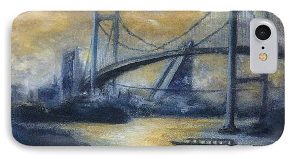 Evening Bridge Phone Case by Tomoko Koyama
