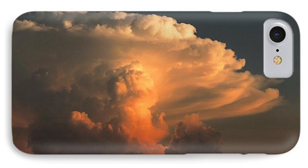 IPhone Case featuring the photograph Evening Buildup by Charlotte Schafer