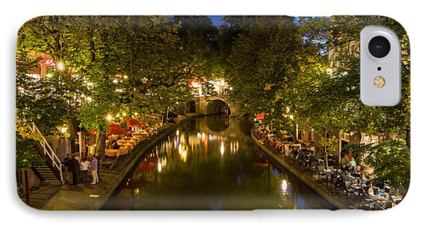 IPhone Case featuring the photograph Evening Canal Dinner by John Wadleigh