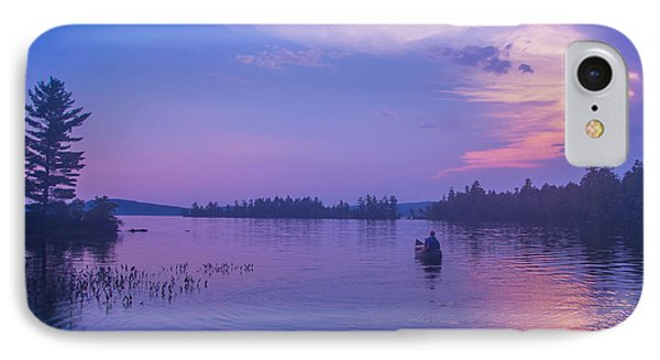 Evening Canoeing  IPhone Case