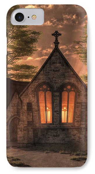 Evening Chapel IPhone Case
