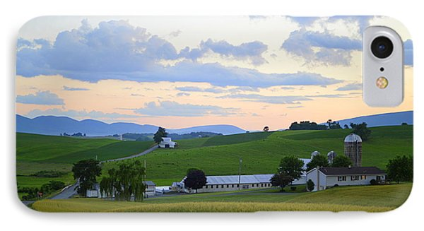 Evening Countryside #1 - Millmont Pa IPhone Case