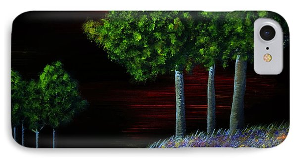 Evening Dream IPhone Case by Tim Townsend