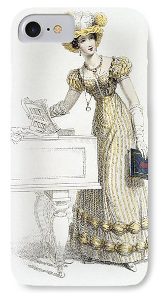 Evening Dress, Fashion Plate IPhone Case
